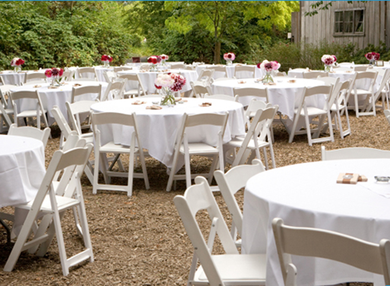 plastic folding Wimbledon chair wedding 2