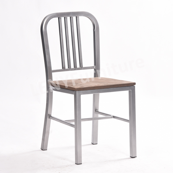 emeco navy side dining chair