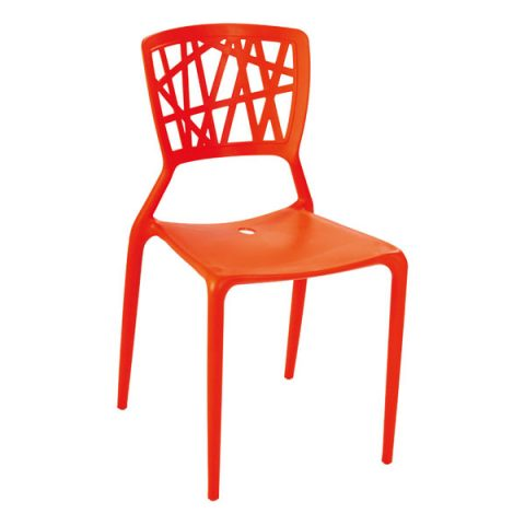 stacking plastic chair
