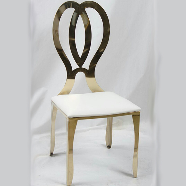 stainless dining chair